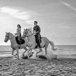 foto trekking a cavallo sul mare, cavallonatura, grosseto, toscana