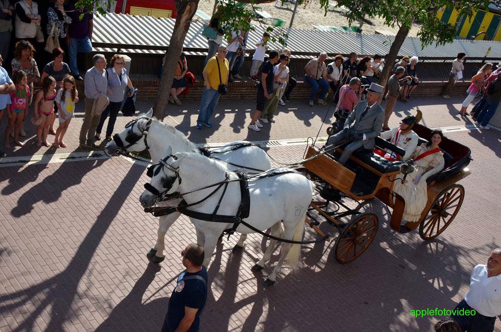 carrozza con cavalli per matrimoni in Toscana