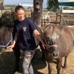 foto passeggiate con pony. cavallonatura, grosseto, toscana